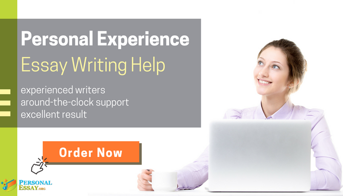 personal experience essay writing services